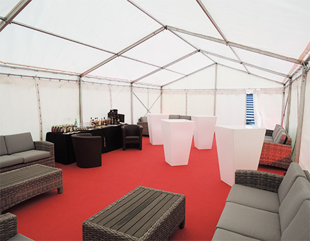 Zeltverleih Saarland VIP-Bereich